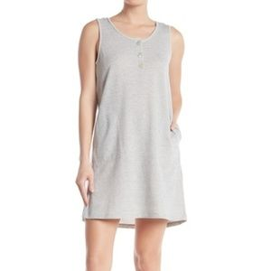 Max Studio Sleeveless French Terry Dress